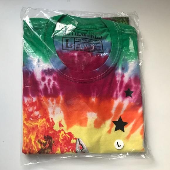 8c7ce132 Travis Scott Shirts | Astroworld Smiley Tie Dye Tshirt | Poshmark
